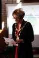 The Mayor, Cllr. Terry O'Flaherty, giving a speech at the 2013 Visioning Day.